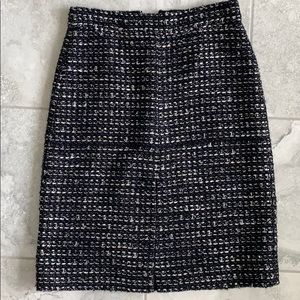 J. Crew - Tweed A-line Skirt